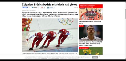 Zbigniew Bródka będzie miał dach nad głową - Gwizdek24.pl_W500