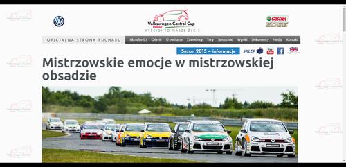 Oficjalna strona pucharu VW Castrol Cup