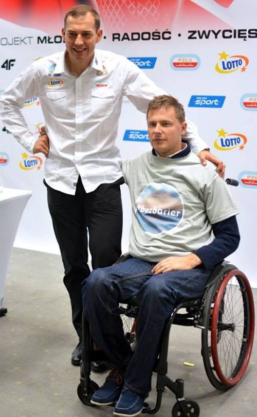 Mateusz Puszkarski i Zbigniew Bródka