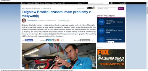 Źródło:http://eurosport.onet.pl/