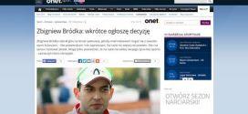 Zbigniew Bródka  wkrótce ogłoszę decyzję - Sport_W500