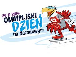 Olimpijski Dzień na Narodowym 2014