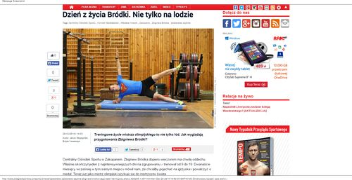 Łyżwiarstwo szybkie - Zbigniew Bródka i jego dzień treningowy - Łyżwiarstwo_W500