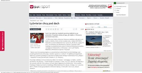 Łyżwiarze chcą pod dach - rp.pl_W500