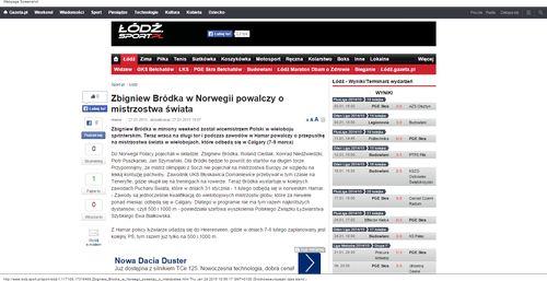 Zbigniew Bródka w Norwegii powalczy o mistrzostwa świata_W500
