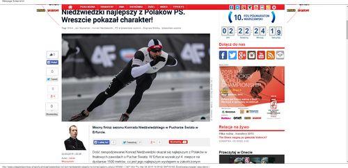 Konrad Niedźwiedzki czwarty na koniec sezonu - Łyżwiarstw_W500