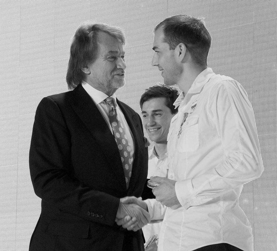 Zbigniew Bródka i Jan Kulczyk