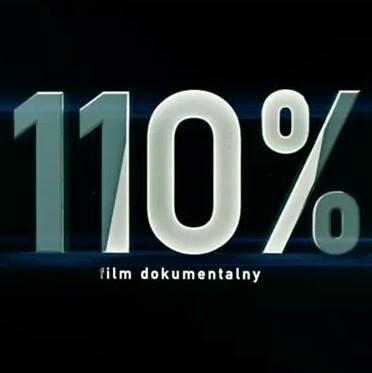 Logo filmu 110% film dokumentalny